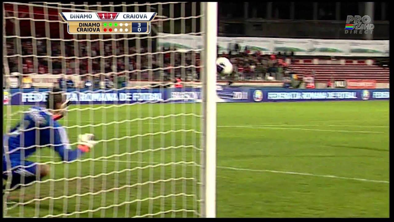 Dinamo - Craiova   lovituri de la 11m   sferturi de finala 2010