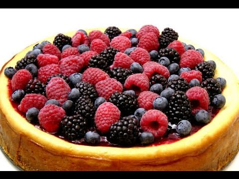 How to Make Homemade Cheesecake From Scratch - Recipe by Laura Vitale - Laura in the Kitchen Ep. 88