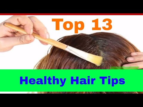 Fastest Way to Grow Hair | 13 Healthy Hair Tips