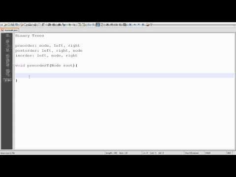 Binary Tree Traversal - Implementation in Java Part 1/2