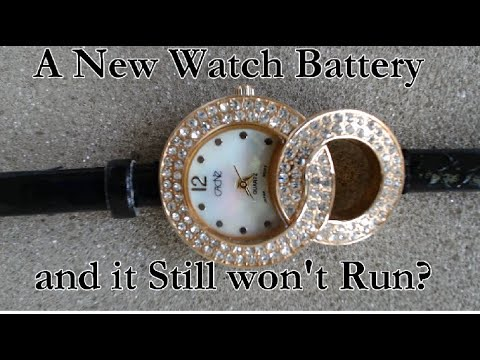 Do you have a wrist watch that stops even with a new battery?