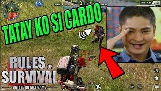 "ANAK NI CARDO ""DI MAPATAY"" (Rules of Survival: Battle Royale)"