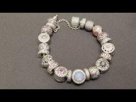 PINK 12.9.2017 Pandora Bracelet in a better light