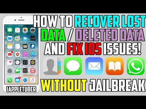 How To Recover LOST / Deleted Data / Fix iOS Issues ( Videos, Photos, Messages, Contacts and More)