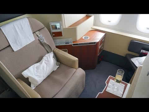Qantas First Class Review - Airbus A380 - QF1 Sydney to London (The Kangaroo Route)