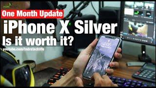 iPhone X Silver Review : Setelah Satu Bulan Pemakaian ? - Indonesia