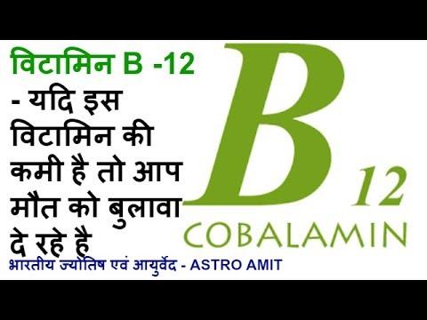 VITAMIN  B12 की कमी के कारण, लक्षण और उपचार - COMPLETE WELLNESS - AYURVEDIC MULTIVITAMIN