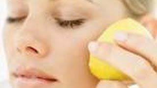 وصفات الليمون للعناية بالبشرة