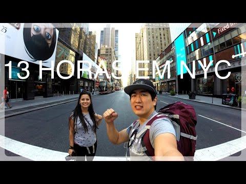 Nova York - De Central Park a Wall Street em 13 horas! Vlog 1