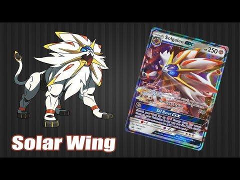 Solgaleo GX Tin Solar Wing Deck - Tinden Çıkan Desteleri İnceliyoruz - Pokemon TCG Online