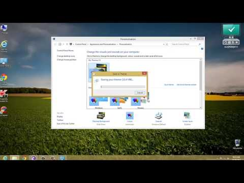 How to create Your own  windows 8 themes