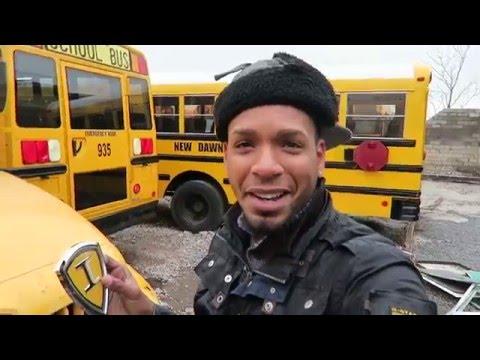 School Bus Walk Around