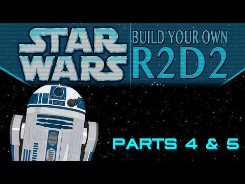 Build Your Own R2D2 Part 4 & 5: Dome Front 01