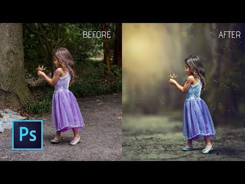 Photoshop cc Tutorial: HOW COULD I EDIT MY CHILD Photo with Photoshop    change photo background
