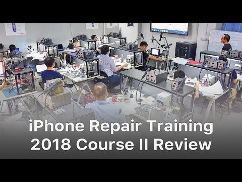 REWA iPhone Logic Board Repair Training Review - 2018 Course II