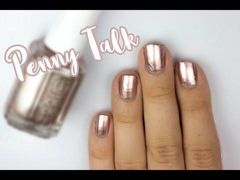 Penny Talk By Essie 60 Second Review   Viki Nailbeauty