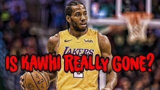 PROOF That Kawhi Leonard Is Leaving The Spurs?