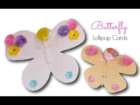 DIY Crafts:  How to Make Butterfly Lollipops