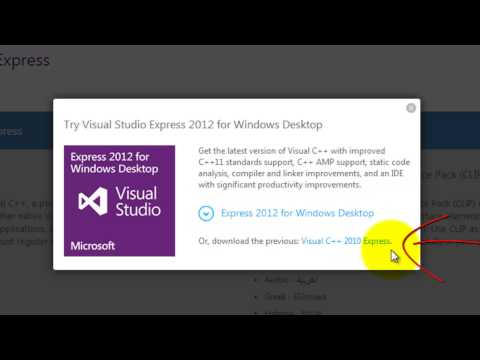 How To Download and Install Visual Studio 2010 Express