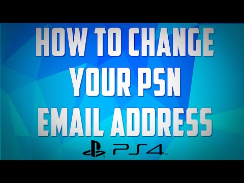 How To Change Your PSN Email Address On The PS4