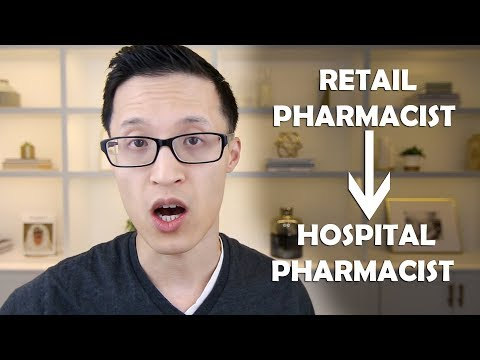 How to Transition from Retail to Hospital Pharmacy