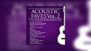 Various Artists - Acoustic Faves Vol.2 (Official Album Preview)
