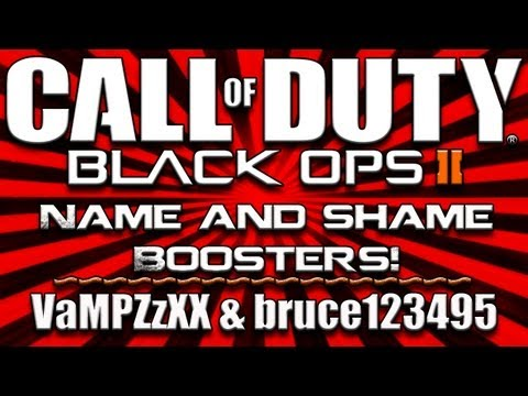 Boost Ops 2 | Name and Shame Boosters | VaMPZzXX & bruce123495