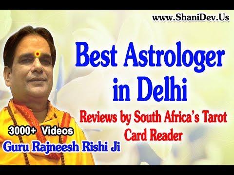 Best Astrologer in Delhi - Guru Rajneesh Rishi Ji Reviews by South Africa's Tarot Card Reader