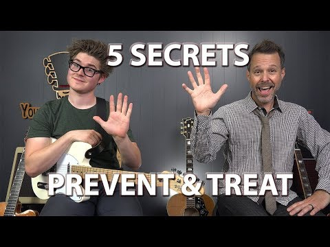 5 Secrets to Prevent & Treat Hand, Wrist, Arm Pain & Injuries