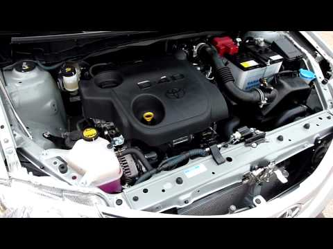 Toyota Etios Diesel hood open NVH