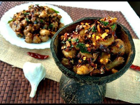 Thrissur style koorka mezhukkupuratti/ Koorka upperi/chinese potatoes stir fry