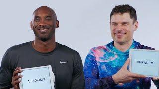 Download Kobe Bryant and Flula Borg Teach You Italian and German Slang   Vanity Fair Video