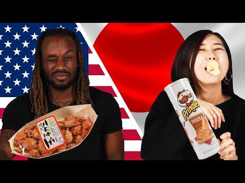 Xxx Mp4 American Amp Japanese People Swap Snacks 3gp Sex