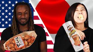 Download American & Japanese People Swap Snacks Video