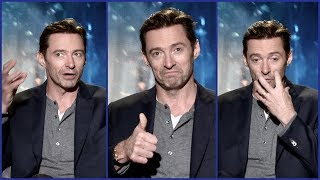 Hugh Jackman On Trying To Be Cool ... And Why He Wears A Mask When Flying