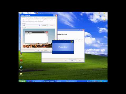 How to install windows xp zune theme and taskbar transparency 2010