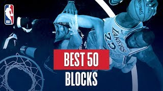 NBA's Best 50 Blocks | 2018-19 NBA Regular Season