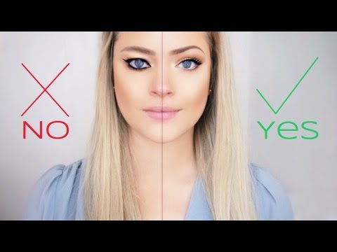 Hooded eyes DO's and DON'Ts