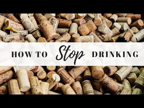 How & Why to Stop Drinking Now