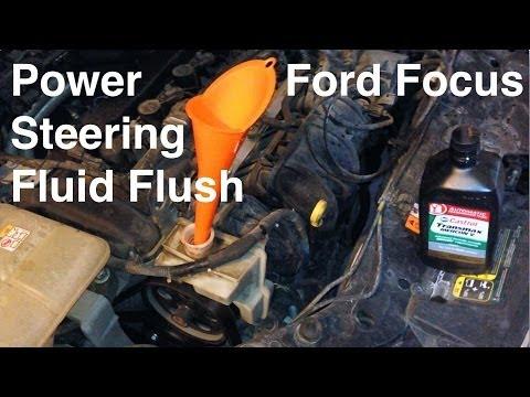 2000-2016 Ford Focus Power Steering Fluid Flush