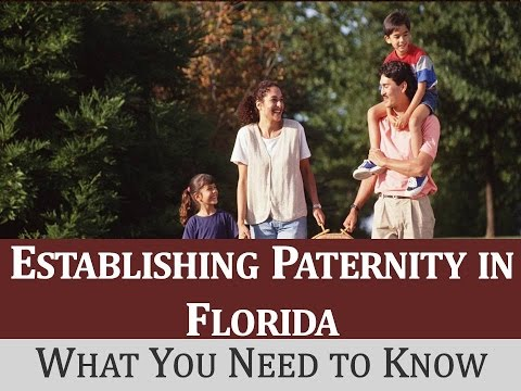 Establishing Paternity in Florida: What You Need to Know