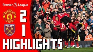 Highlights | Manchester United 2-1 West Ham | Pogba penalties secure the  points