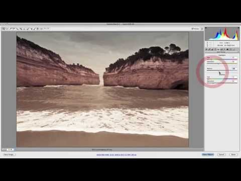 Camera Raw: How To Use Split Toning Panel
