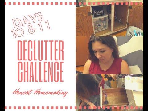 30 Day Decluttering Challenge - Days 10 & 11