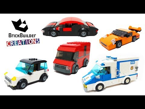 TOP 5 LEGO MOC CARS | Brick Builder Creations