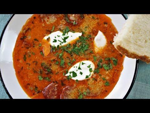 Hungarian Lentil Soup (Lencseleves)