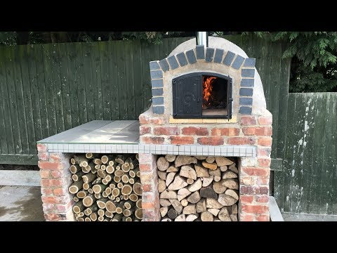Homemade DIY Pizza Oven Construction