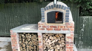 Homemade DIY Pizza Oven Construction - Step by Step