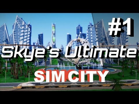 SimCity 5 (2013) Gameplay/Lets Play #1 ►How To Make $10 Million FAST◀ Cities of Tomorrow