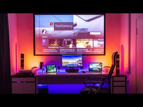 TechCentury Ultimate Desk Setup Tour Winter 2016!